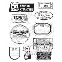 Clear stamps - MD - Label & Tickets