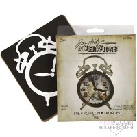 Dies-Tim Holtz-Alterations-Tick Tock