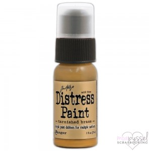 Distress Paint-Tarnished Brass-Metalic