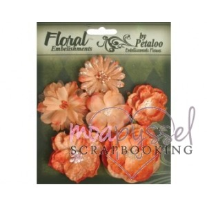 Floral Embelishments - Sienna