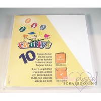 * 10 cards and envelopes-White Charley due s