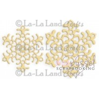 Dies-La-La Land Crafts-Heart flakes (Set of 2)