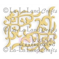 Dies-La-La Land Crafts Decorative Corners (2 corners)