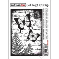 Stamp-darkroom door-Collage Stamp