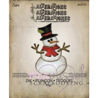 Dies-Tim Holtz-Alterations-Assembly Snowman