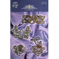 Dies-Lin & Lene design-Four swirls-1201/0063