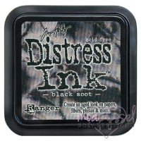 Distress Ink Pad-Black Soot