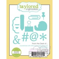Dies - Taylored Expressions - From the Desk of...