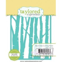 Dies - Taylored Expressions - Birch Tree Cutting Plate