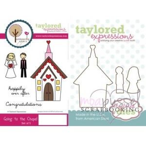 Stamps and dies-Taylored Expressions-Going to the Chapel