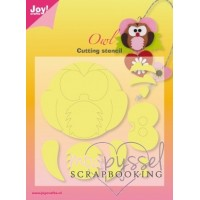 Joy Crafts - Owl - Uggla - 6002/3101