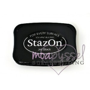 -StazOn Ink Pad-Jet Black