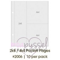 SN @ P! -2 x 8/4 x 4 Pocket Pages-item2006