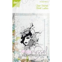Joy-Clear stamps-Floral Ladies-6410/0076