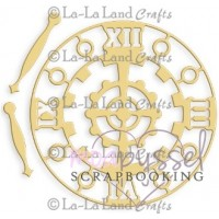 Dies - La-La Land Crafts - Steampunk Clock