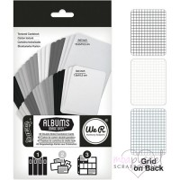 We R memory keepers-double-sided cardstock cards-Blackboard