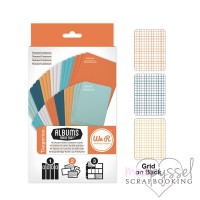 We R memory keepers-double-sided cardstock cards-Tangerine