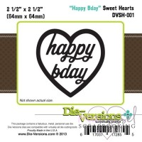 Dies - Die-Versions - Happy birthday