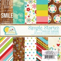 Simple Stories - Paper pad 6 x 6 - Good day sunshine