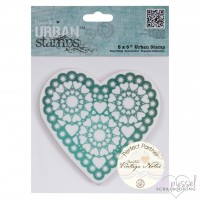 Stamp-Urban stamps-Vintage heart