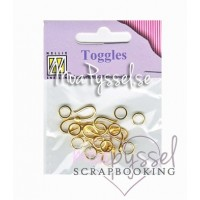 004-jewelry lock toggles-gold
