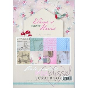 Paper pads - MD - Eline´s winter Huis