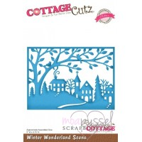 Dies - Cottage Cutz - Winter Wonderland Scene