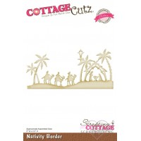 Dies - Cottage Cutz - Nativity Border