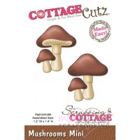 Dies - Cottage Cutz - Mushrooms Mini