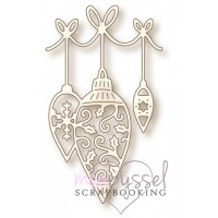 Dies - Wild Rose Studio - Hanging Baubles SD034