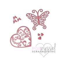 Dies - Victorian Collection - Flutter Love - S3-211