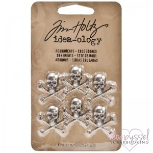 Tim Holtz- Adornments Crossbones