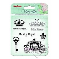 ScrapBerry´s - Silicone stamps set -Versailles