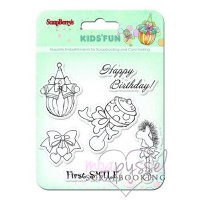 ScrapBerry´s - Silicone stamps set - Kid´s fun
