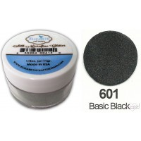 *Elizabet Crafts - Silk Microfine Glitter - Basic Black