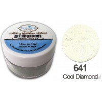 *Elizabet Crafts - Silk Microfine Glitter - Cool Diamond