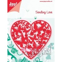 Dies - Joy crafts - Sending Love 6002/0417