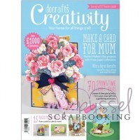 *Tidning - Docrafts Creativity Springtime craft ideas
