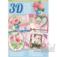 *3 D tidning från Studio light - Flower cards
