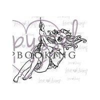 Little Darlings rubber stamps - Just Swingin