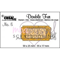 Dies - Crealies - Double Fun No 5 Tickets