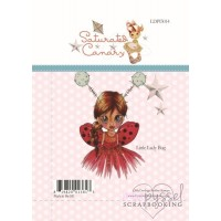 Clear stamps - Saturated Canary - Little Lady Bug