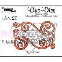 Dies - Crealies - Duo - Dies - No 20