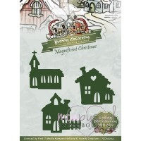 Dies - Yvonne creations - Magnificient Christmas - Little village