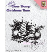 Nellie Snellen - Clear stamp - Christmas Time CT010