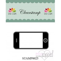 Clear stamp - Dixi craft - Mobiltelefon