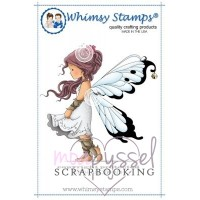 Wee Stamps - Silver Fairy
