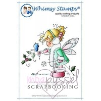 Wee Stamps - Winter Fairy