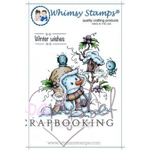 Wee Stamps - Miss Frosty