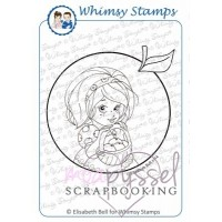 Whimsy stamps - stämpel - Elisabeth Bell - Little Chloe